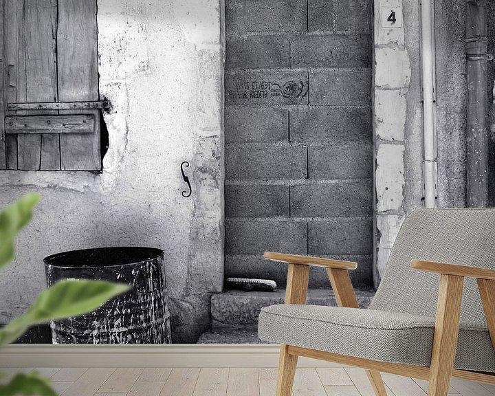 Beispiel fototapete: Kein Zutritt (Mauerwerkstür) von Caroline Lichthart