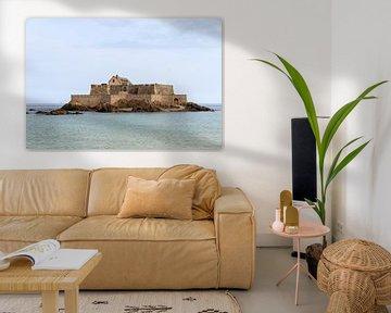 Fort National Saint-Malo van Dennis van de Water