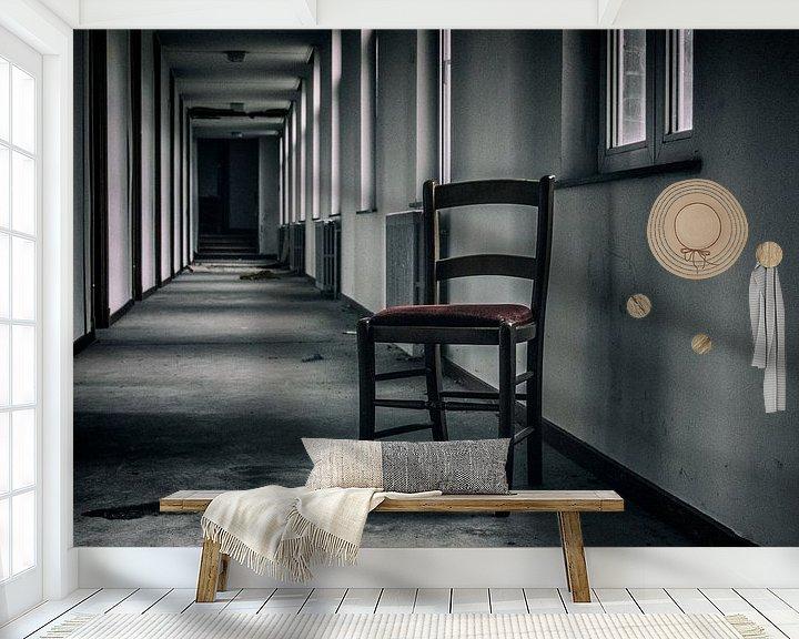 Beispiel fototapete: Lonesome chair von Mandy Winters