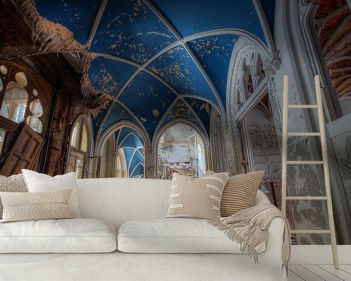 Beispiel fototapete: Urbex - Chateau de noisy von Angelique Brunas