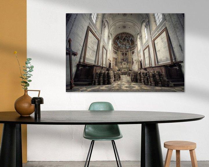 Beispiel: Urbex - Kerk von Angelique Brunas