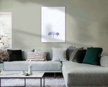 Drie op een rij. van Niels Barto
