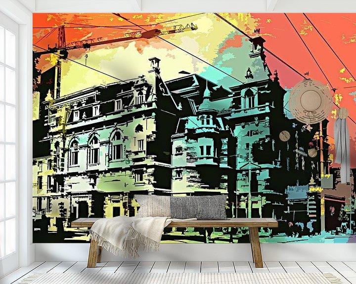 Beispiel fototapete: Stadsschouwburg Amsterdam von PictureWork - Digital artist