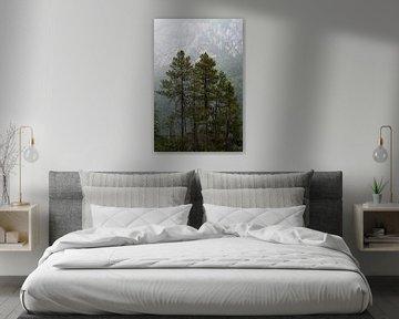 Trees and Mountains van Remco van Adrichem