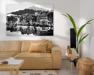 Amsterdam van PictureWork - Digital artist