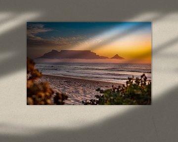 Zuid Afrika Zonsondergang von Fabian Bosman