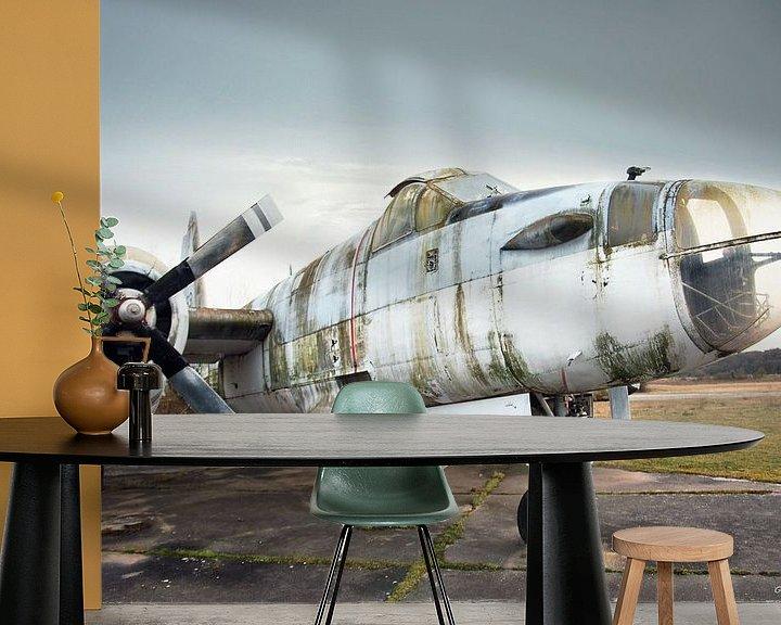 Sfeerimpressie behang: Project Urbex52 nr19 van Gabriel Schouten de Jel