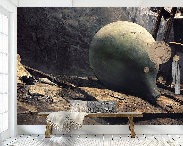 Sfeerimpressie behang: Project Urbex52 nr32 van Gabriel Schouten de Jel