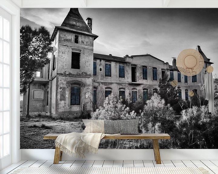 Sfeerimpressie behang: Project Urbex52 nr46 van Gabriel Schouten de Jel