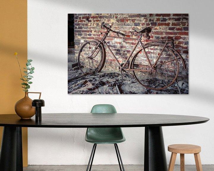 Beispiel: Altes Fahrrad in Scheune von Patrick Löbler