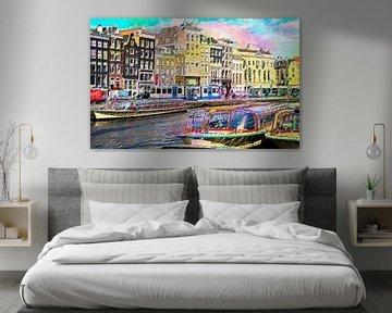 Amsterdam #1 von PictureWork - Digital artist