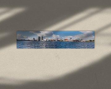 Skyline Almere panorama van Brian Morgan