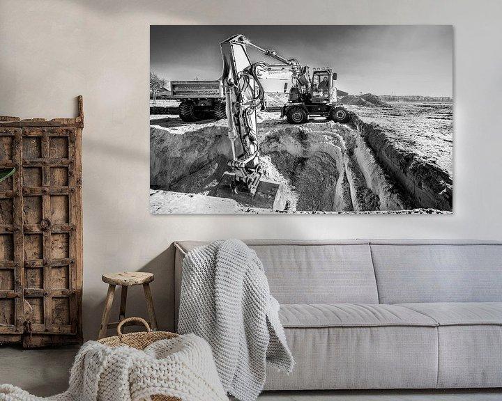 Sfeerimpressie: Graafmachine II van Thomas van der Willik