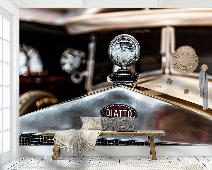 Beispiel fototapete: Diatto grille en radiator ornament von autofotografie nederland