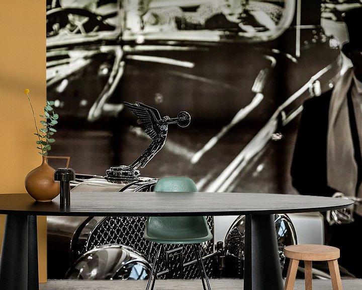 Beispiel fototapete: Radiator ornament Packard von autofotografie nederland