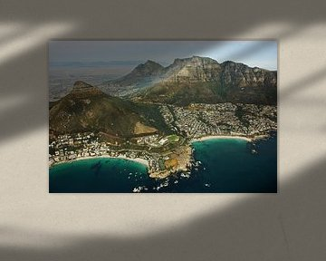 Cape peninsula aerial view III - Camps Bay - Clifton