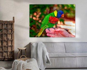 Papagei von Leopold Brix