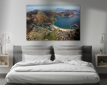 Cape peninsula aerial view IV - Hout Bay