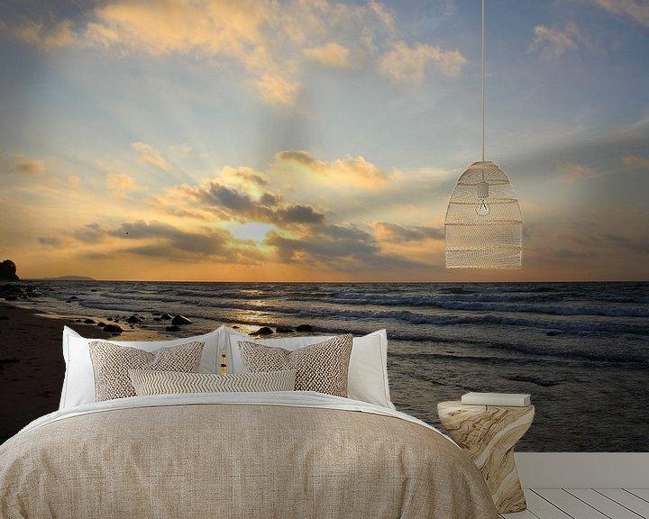 Beispiel fototapete: Sonnenuntergang von Ostsee Bilder