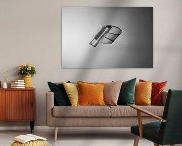 abstract minimalistische fotokunst von Anneloes van Dijk