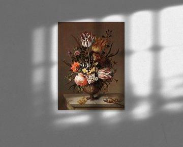 Stillleben mit Blumenvase, Jacob Marrel