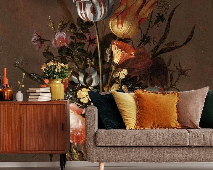 Impression: Stillleben mit Blumenvase, Jacob Marrel