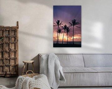Sonnenaufgang Kapaa-Strand, Kauai, Hawaii