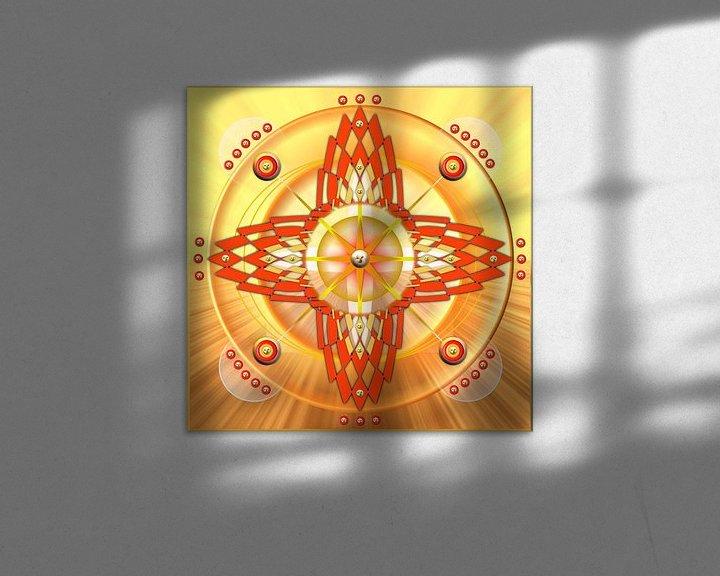 Sfeerimpressie: Sacraal chakra van Shirley Hoekstra
