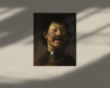 L'homme qui rit, Rembrandt - vers 1629