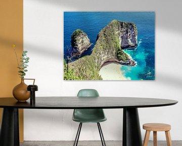 kelingking beach. van Fara Lageweg