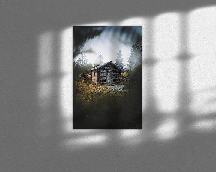 Sfeerimpressie: Cabin in the woods van Bryan Venken