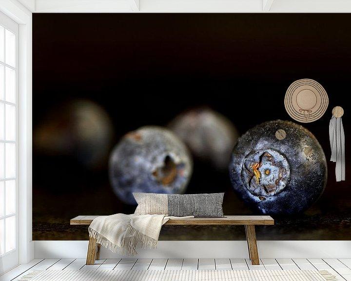Impression: Blaue Beeren sur Mirjam van Vooren