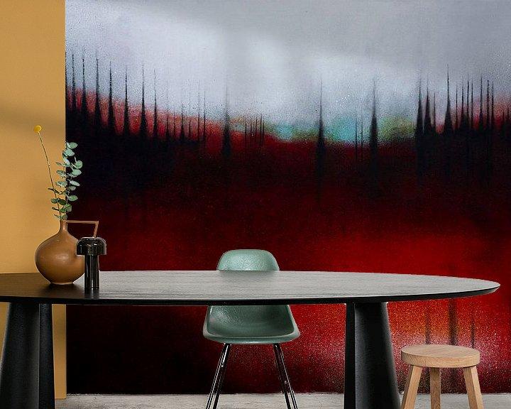 Sfeerimpressie behang: FOREST SOUND van db Waterman