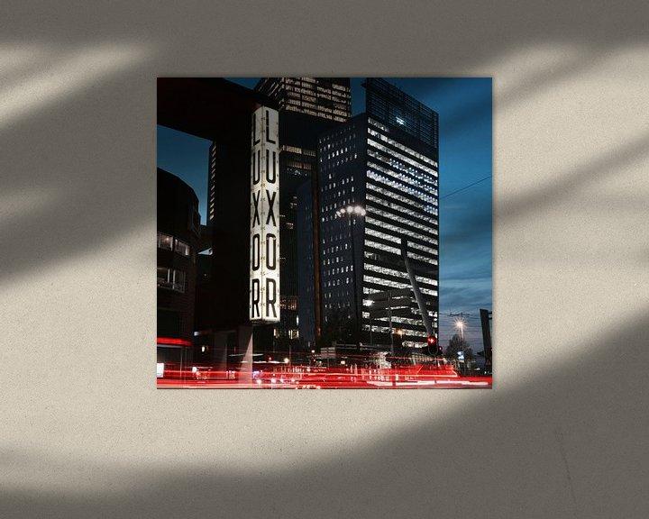 Sfeerimpressie: Rotterdam Kop van Zuid van Mike Landman