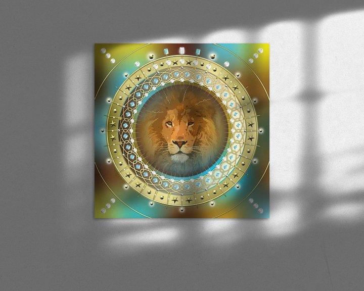 Sfeerimpressie: Sterrenbeeld Leeuw van Shirley Hoekstra