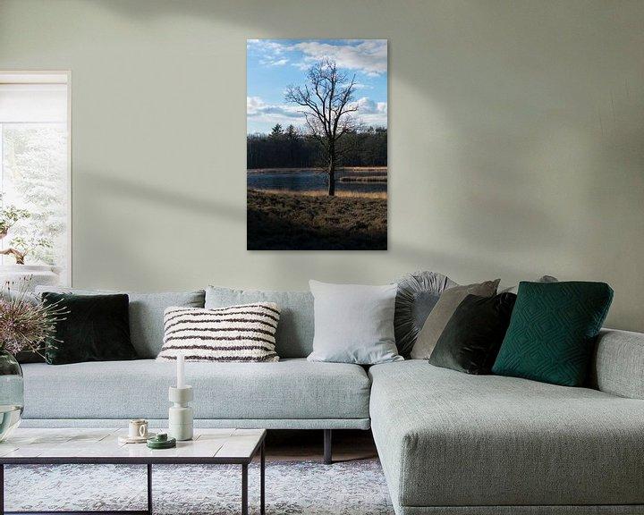 Impression: Arbre solitaire sur Onno van Kuik