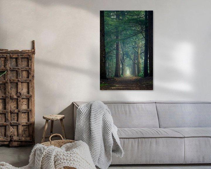 Sfeerimpressie: Portal through the forest van Mark Vredeveld