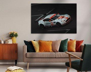 Aston Martin in actie op Spa-Francorchamps van Richard Kortland