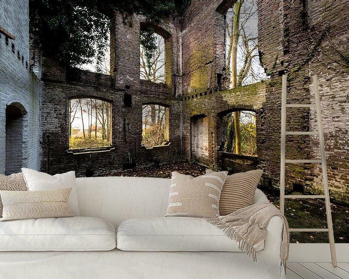Beispiel fototapete: Ruine van een ooit statig kasteel von Brian Morgan