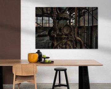 Urbex: 35 bar Industrie von Wesley Van Vijfeijken