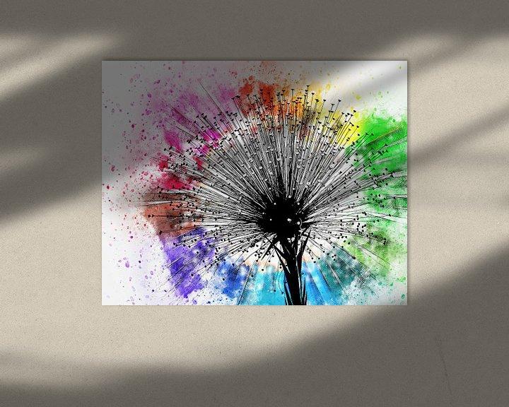 Beispiel: Flower six von PictureWork - Digital artist