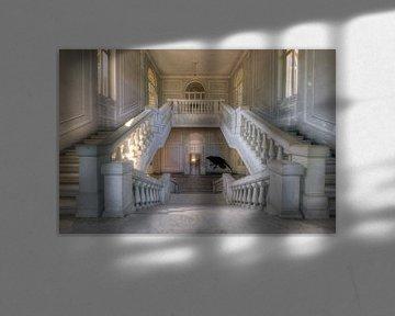 Verlassene Treppe von Kristof Ven