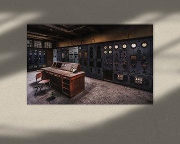 Controlekamer van Jeroen Linnenkamp