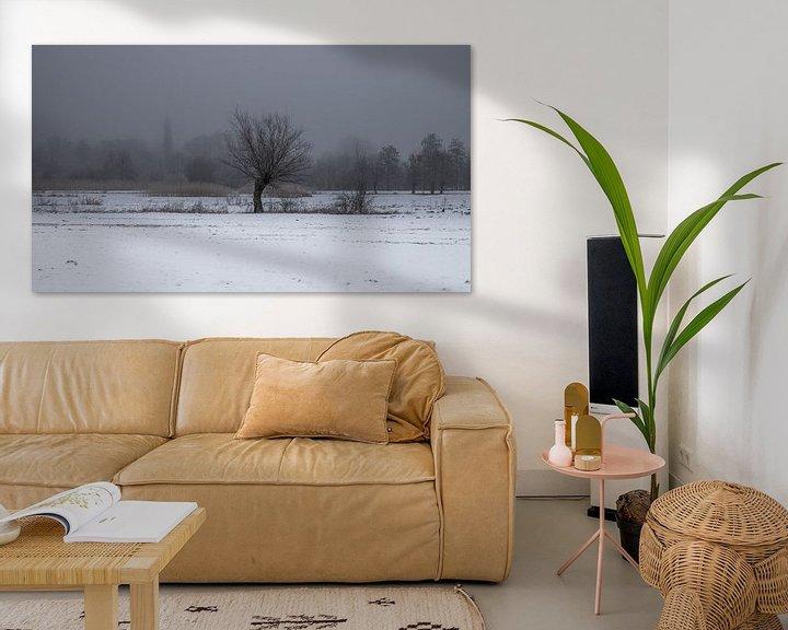 Sfeerimpressie: a winter landscape van Koen Ceusters
