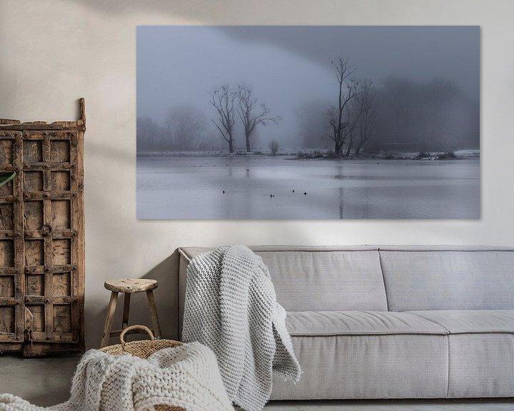 Sfeerimpressie: a mysterious winter landscape van Koen Ceusters