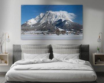 Zugspitze Tirol van Dennis Hilligers