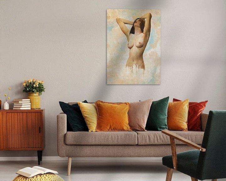 Sfeerimpressie: Erotisch naakt - Naakt in een staat van ontspanning van Jan Keteleer