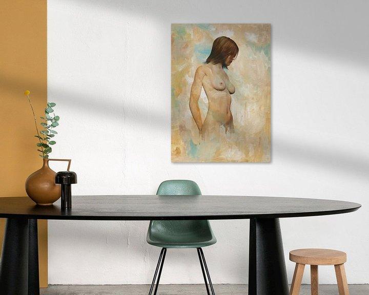 Sfeerimpressie: Erotisch naakt - naakt vastgehouden door gedachten van Jan Keteleer