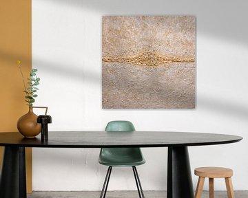 Horizont abstrakte Malerei