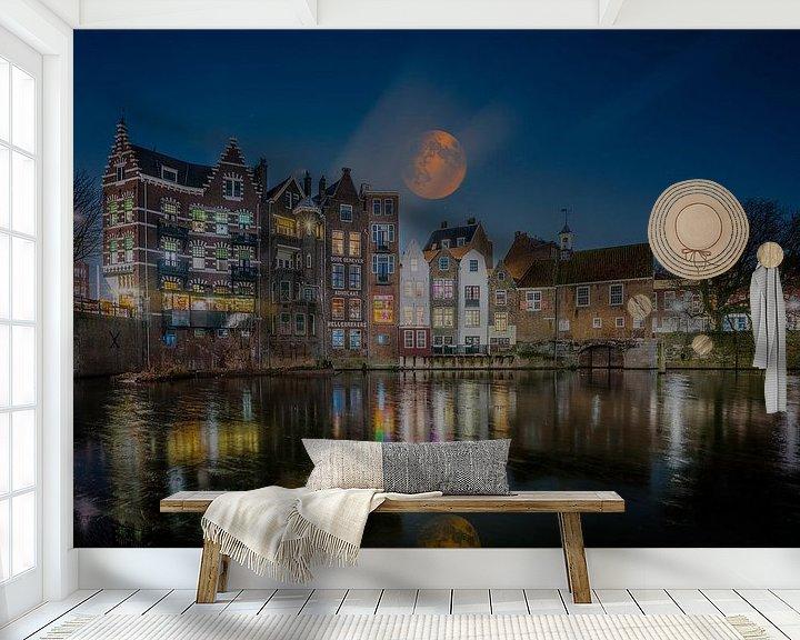 Beispiel fototapete: Delfshaber Rotterdam von Michel Jansen